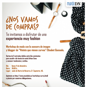 Workshop de moda con la blogger Elisabeth Quesada